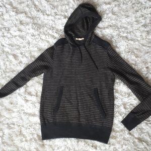 John Varvatos sweater wool alpaca acrylic striped